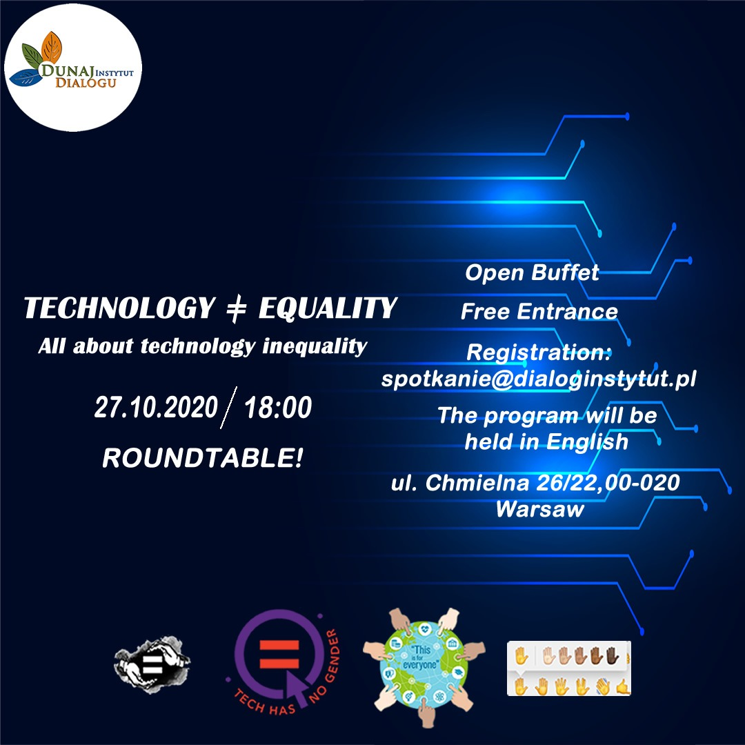 Roundtable Technology ≠ Equality  All about technology inequality